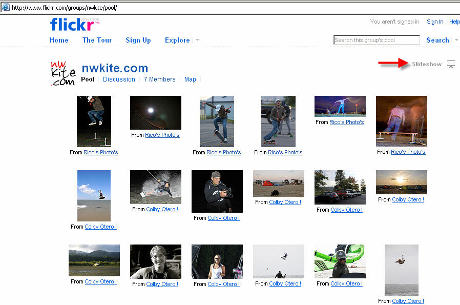 nwkite com Flickr Pool